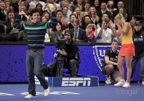 mcilroy Rory steals the show at BNP Paribas Showdown