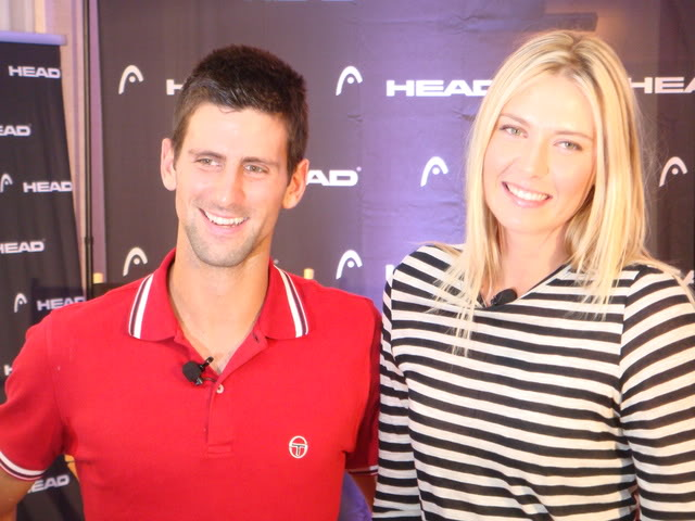 djokovic and sharapova relationship tips
