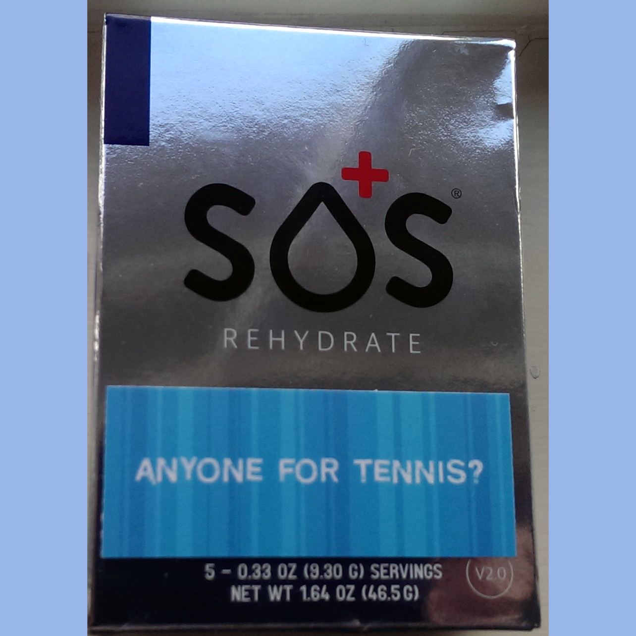 IMAG1779 SOS Rehydrate Lifestyle Survival Drink Product Review