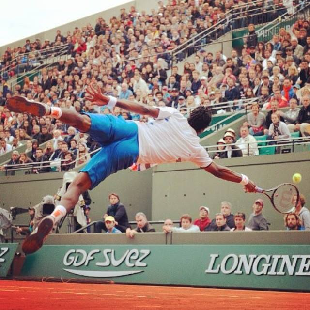 Gael Monfils Dive Gael Monfils Does What Only he