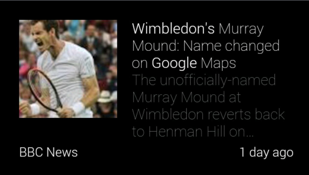 7 Seeing Wimbledon through a different lens – the Google Glass Experience