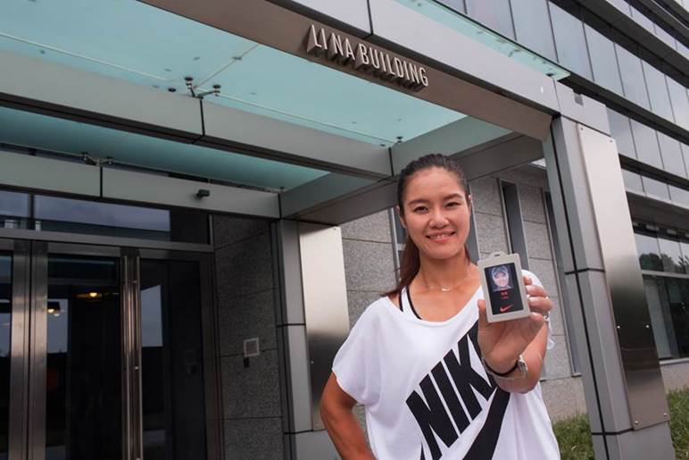 image001 NIKE UNVEILS THE ''LI NA'' BUILDING