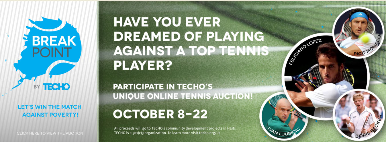 Untitled 2 Have you ever dreamed of playing against a professional tennis player?