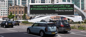 Andy Murray #message2london - Vauxhall Cross