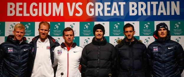 Murray to lead Brits in Davis Cup final date