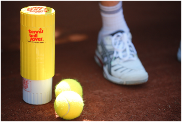 Testing the TENNIS BALL SAVER
