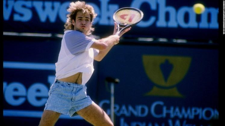 Denim Tennis Short